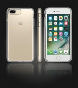 Transparent TPU case iphone 7 Plus - Clear