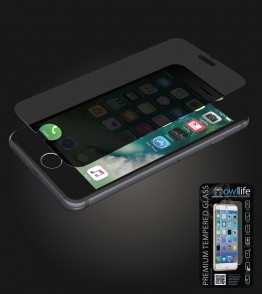 owllife Premium Tempered Glass privacy iphone 7 Plus