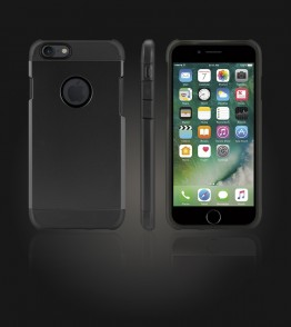 Duo Protection Case iphone 7 - Black