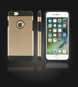 Duo Protection Case iphone 7 - Gold