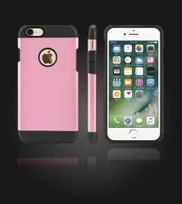 Duo Protection Case iphone 7 - Pink