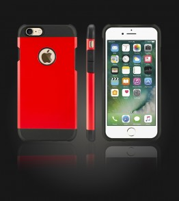Duo Protection Case iphone 7 - Red