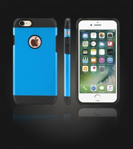 Duo Protection Case iphone 7 - Blue