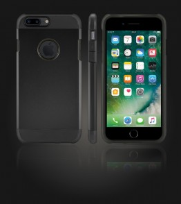 Duo Protection Case iphone 7 Plus - Black