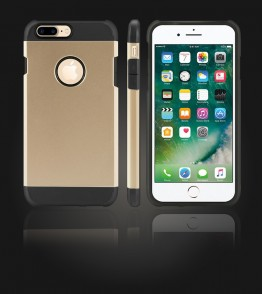 Duo Protection Case iphone 7 Plus - Gold