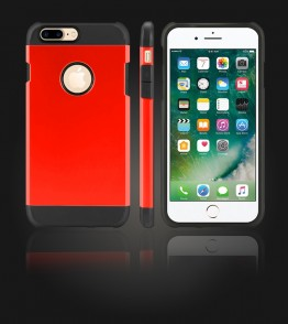 Duo Protection Case iphone 7 Plus - Red