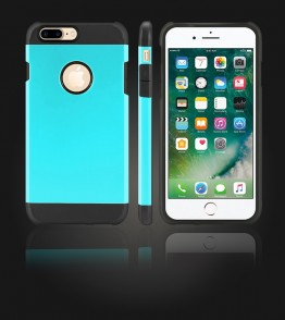 Duo Protection Case iphone 7 Plus - Mint