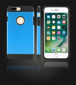 Duo Protection Case iphone 7 Plus - Blue