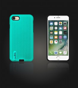 owllife Slim Protection Case iphone 7 - Mint