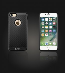 owllife Slim Protection Case iphone 7 - Black