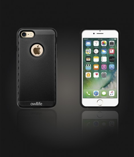 owllife Slim Protection Case iphone 7 - Black