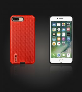 owllife Slim Protection Case iphone 7 Plus - Red