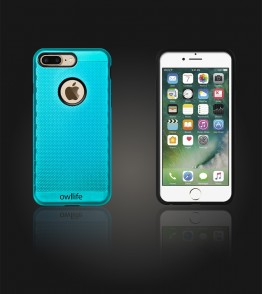 owllife Slim Protection Case iphone 7 Plus - Mint