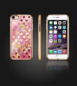 Liquid Water Case Iphone 6/6S - Gold