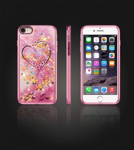 Liquid Water Case Iphone 7 - Pink