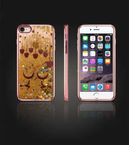 Liquid Water Case Iphone 7 - Rose Gold