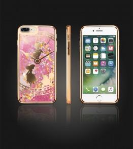 Liquid Water Case Iphone 7 Plus - Gold