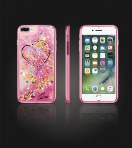 Liquid Water Case Iphone 7 Plus - Pink