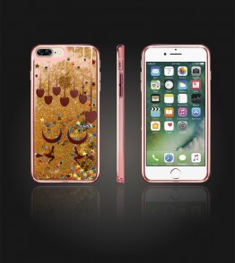 Liquid Water Case Iphone 7 Plus - Rose Gold